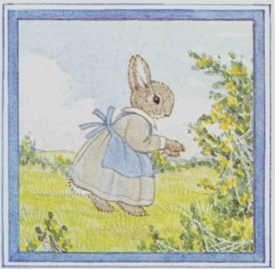 Little Grey Rabbit, created by Alison Uttley, drawn by Margaret Tempest.